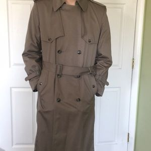 Vintage London fog trench coat 38 regular